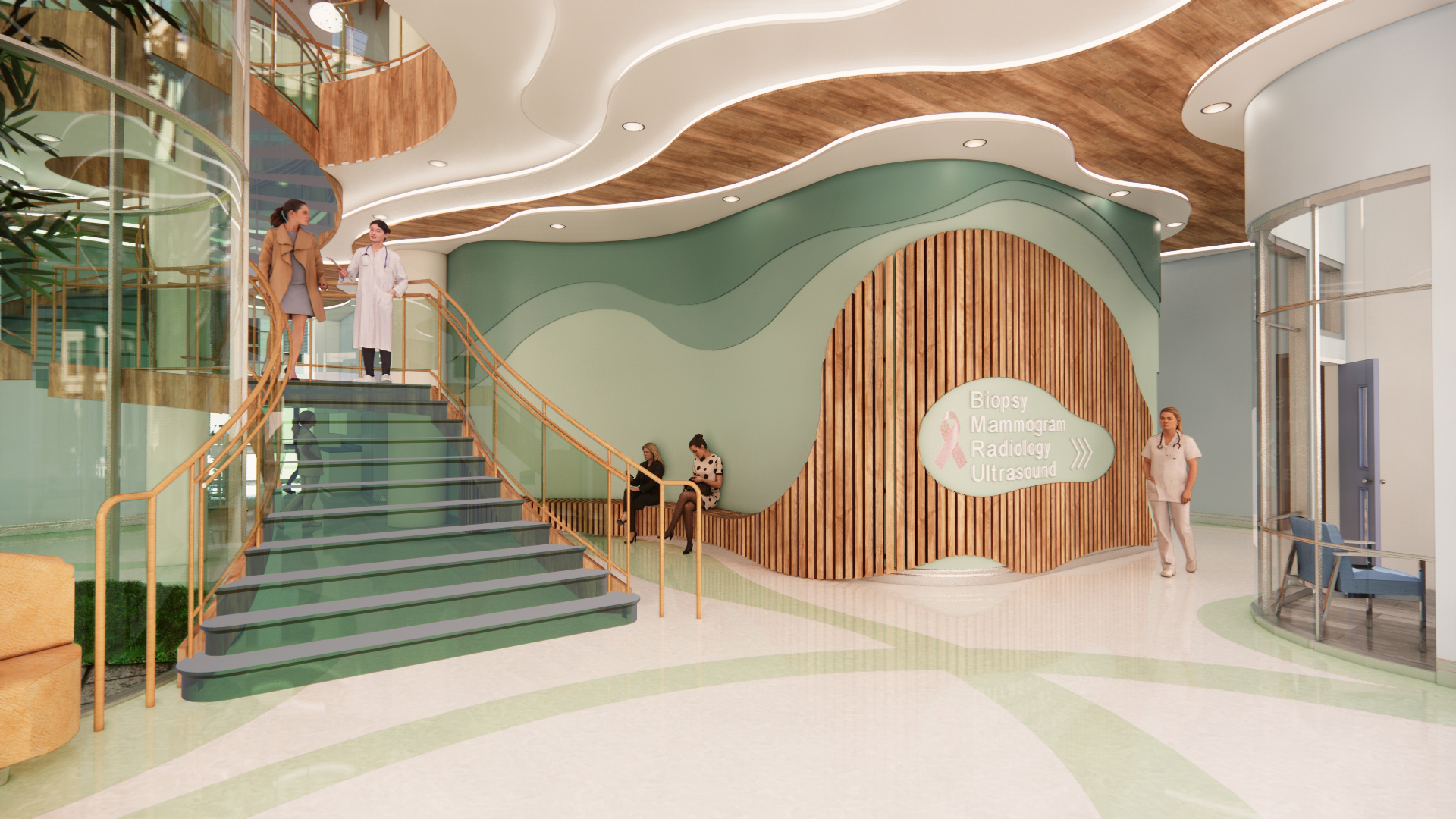 6 - Perspective View_Stair